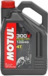 Motul 300V 4T Factory Line Road racing 10W-40 4 l