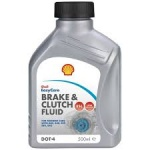 Shell Brake and Clutch Fluid Dot 4 (500 ml)