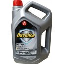 TEXACO HAVOLINE ULTRA 5W-40 4L